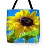 Sun Flower - Id 16235-142741-1520 Tote Bag