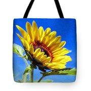 Sun Flower - Id 16235-142812-7136 Tote Bag