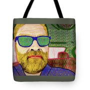 Sun Glasses Tote Bag