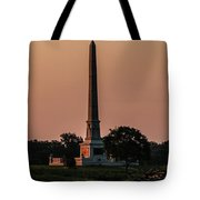 Sun Hitting The United States Regular Monument Tote Bag