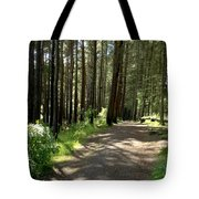 Sun In The Forest. Tote Bag