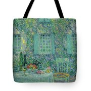 Sun In The Leaf, Gerberoy Tote Bag