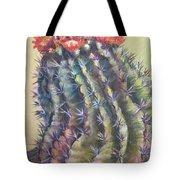 Sun Kissed Barrel Cactus Tote Bag