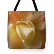 Sun Kissed Begonia Flower Tote Bag