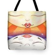 Sun Kissed Moon Tote Bag