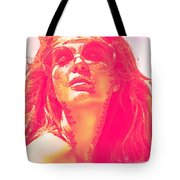 Sun Kissed Pearlesqued Tote Bag