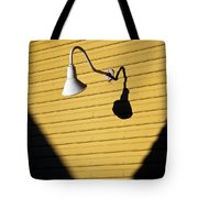 Sun Lamp Tote Bag by Dave Bowman