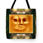 Sun Loves Moon Montage Tote Bag