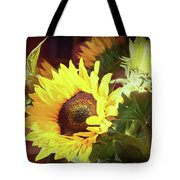 Sun Of The Flower Tote Bag by Michael Hope