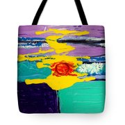 Sun On Sea Tote Bag