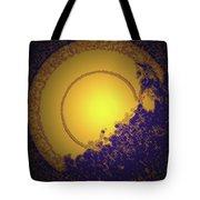 Sun On The Edge Of Night Tote Bag