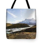 Sun On The River Tote Bag