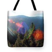 Sun Orbs Tote Bag