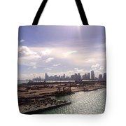 Sun Over Miami Tote Bag