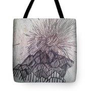 Sun Over The Smoky Mountains Tote Bag
