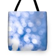 Sun Reflections On Water Tote Bag