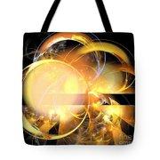 Sun Rings Spiral Tote Bag