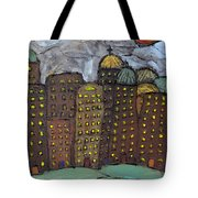 Sun Rising On Olde Towne Tote Bag