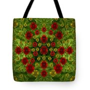 Sun Roses In The Deep Dark Forest With Fantasy And Flair Tote Bag