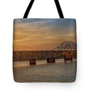 Sun Set Shoals2 Tote Bag