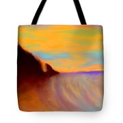 Sun Setting On Friars Bay Tote Bag