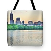 Sun Rise In Indianapolis Tote Bag
