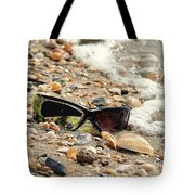 Sun Shades And Sea Shells Tote Bag