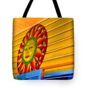 Sun Shopping Tote Bag