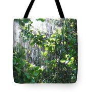 Sun Shower Photograph Tote Bag