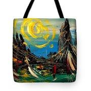 Sun Sin City Tote Bag