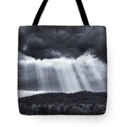 Sun Sines Through Tote Bag