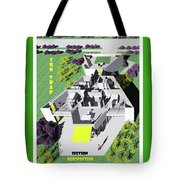 Sun Trap Section Perspective Tote Bag