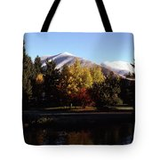Sun Valley Morning Tote Bag
