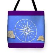 Sun Wheel Tote Bag
