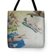 Sun Worship Tote Bag