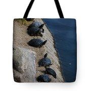 Sunbathers Tote Bag