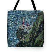 Sunbathers Cornwall Tote Bag