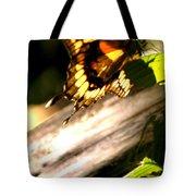 Sunbathing Butterfly Tote Bag