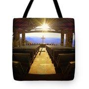 Sunburst At Pretty Place  Tote Bag