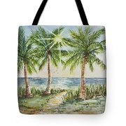 Sunburst Beach Morning Tote Bag