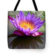 Sunburst Lily Tote Bag