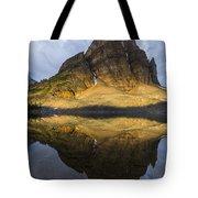 Sunburst Peak Reflection Tote Bag