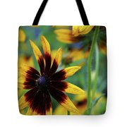 Sunburst Petals Tote Bag