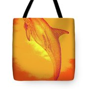 Sunburst Porpoise Tote Bag