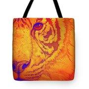 Sunburst Tiger Tote Bag