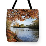 Sunbury On Thames Surrey Uk Tote Bag