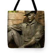 Sundance Kid Statue 4 Tote Bag
