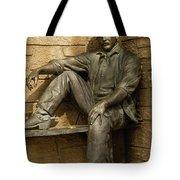 Sundance Kid Statue 5 Tote Bag