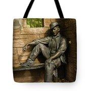 Sundance Kid Statue Tote Bag