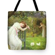 Sunday Afternoon - Ladies In A Garden Tote Bag